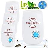 FIOLOM Electronic Pest Repellent, Ultrasonic Pest Repeller Indoor Plug In Pest Control
