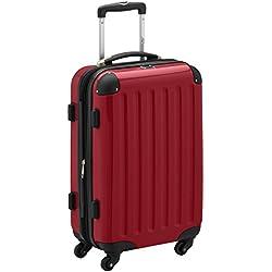HAUPTSTADTKOFFER - Alex - Valise à Main Rouge Brillant TSA 55 cm 42 litres