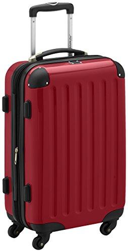 HAUPTSTADTKOFFER - Bagaglio a mano Rigida Alex, TSA, Taglia 55 x 35 x 24 cm, 42 Litri, Colore Rosso