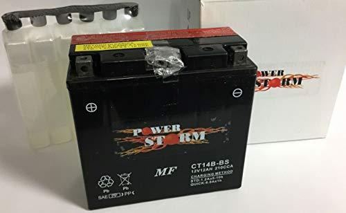 Batteria moto Power Storm CT14B-BS (YT14B-BS) YAMAHA MT-01, S 1700 2002-2008