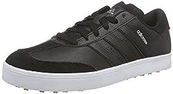 adidas Herren Adicross V Golfschuhe Schwarz Core Black/White, 44 2/3 EU