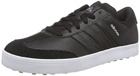 adidas Adicross V, Men's Golf Shoes, Black (Core Black/Core Black/White), 11 UK (46 EU)