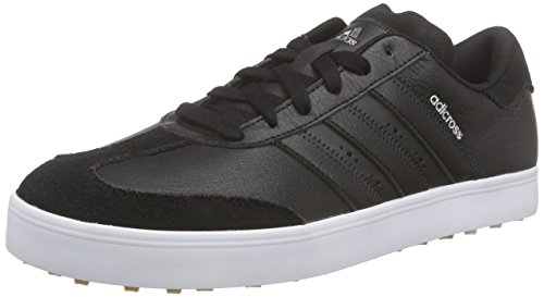 adidas Adicross V, Men's Golf Shoes, Black (Core Black/Core Black/White), 8.5 UK (42.5 EU)