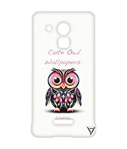 Vogueshell Cute Olw Printed Symmetry PRO Series Hard Back Case for Coolpad Note 3 Lite