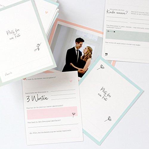 Gästebuchkarten mit Aufbewahrungsbox - 4