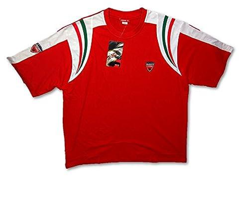 Ducati Corse MotoGP Bike Motorrad Herren Rot T-Shirt, kurzärmelig rot rot XXXL