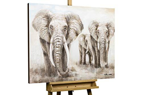 Kunstloft® Cuadro en acrílico 'Big Family' 100x75cm | Original Pintura XXL Pintado...