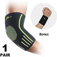 FITPRO Ellenbogen-Bandage Unterstützung Sleeve (Paar)–Hohe Qualität Ellbogen Kompression Sleeve–Ellenbogenbandage... preisvergleich bei billige-tabletten.eu