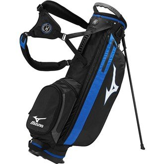 2015 Mizuno Comp Stand Bag Carry Mens Golf Bag 4-Way Divider Black