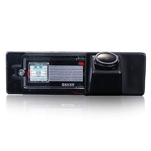 Caméra de recul HDMEU HD Couleur CCD étanche pour Voiture Caméra de recul, Angle de Vue 170° pour BMW Série 1 120i/E81/E87/F20/135i/640i/116i/Z4 E89 BMW Mini Clubman/Cooper Series