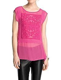 ESPRIT Collection Damen Regular Fit Bluse aus weicher Viskose