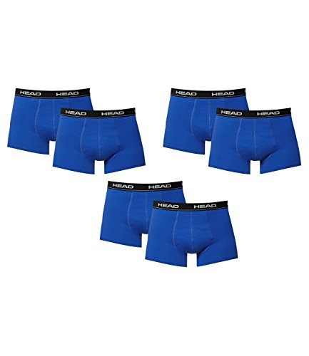 6 er Pack Head Herren Boxer Boxershorts Farbwahl 2015 NEU Blue-Black 6er Pck.