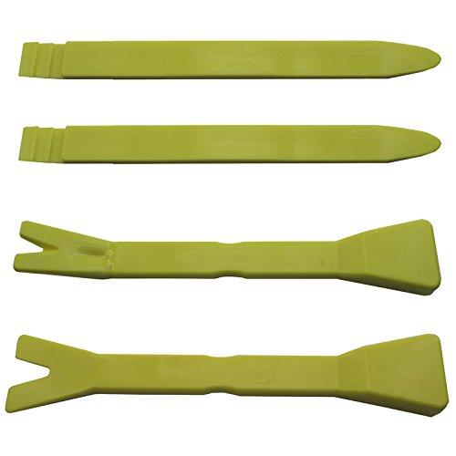 Professionale Smontaggio Kit per Modanatura, pannelli porta, pannelli, Plastica, 4pezzi