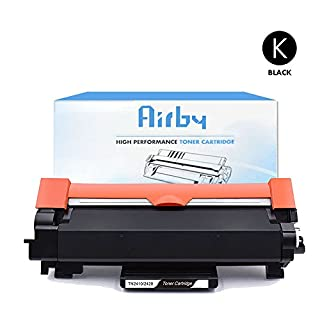 Airby New Compatible Brother TN2420 TN2410 Toner Cartridge (with latest chip)