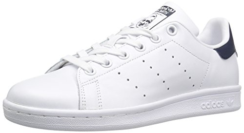 Adidas Womens Stan Smith áFootwear White/Off White Leather Trainers 38 EU (Comfort Smith Stan)