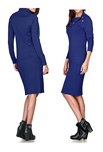 Heine - Best Connections -  Vestito  - Astuccio - Opaco - Donna Blu