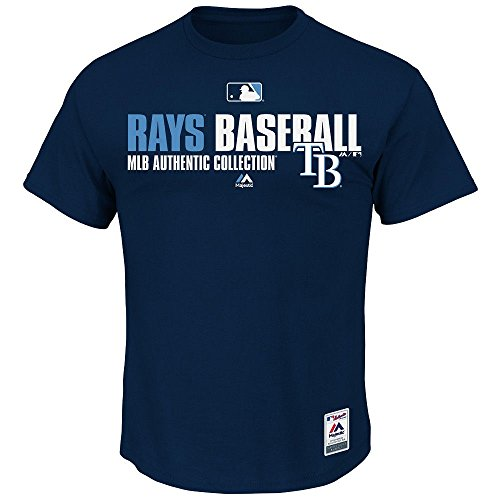 MLB T-Shirt Tampa Bay Rays Team Favorite Authentic Collection in XL (Bay Tampa Ray-shirt)