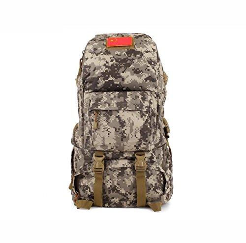 Outdoor Wandern Tarnung Rucksack Herren- Klettern Tasche Multifunktional Daypack ACUcamouflage