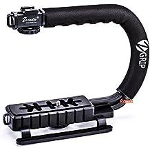 Zeadio Estabilizador para la videocámara de la cámara réflex digital de vídeo DV, Canon Nikon Sony Olympus Panasonic Pentax Videocámaras