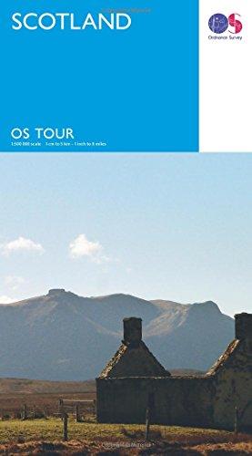 Scotland (OS Tour Map) por Ordnance Survey