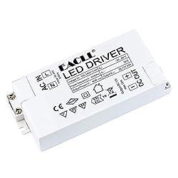 EACLL LED Trafo AC 240V zu DC 12V 60W 5A Transformatoren Für drive Weniger als 60W MR11 G4 MR16 GU5.3 LED Birnen Lichtstreifen Transformator LED Lampen Dedizierten Treiber Netzteil, 1 Stück
