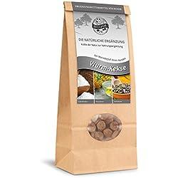 Bellfor Nahrungsergänzung für Hunde Wurm - Kekse 100 % natürliche Art bei Wurmbefall von Hunden