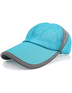 Cappello da sole Moda Cappello anti-sole cappello traspirante cappuccio netto maschio e femmina estate cappello...