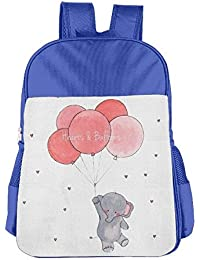 Cute Elephant Children School Backpack Carry Bag For Teens Boys Girls