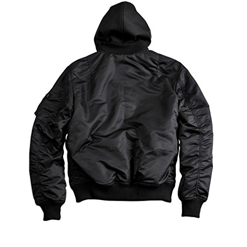 Alpha Industries Jacket MA-1 D-Tec VF Black