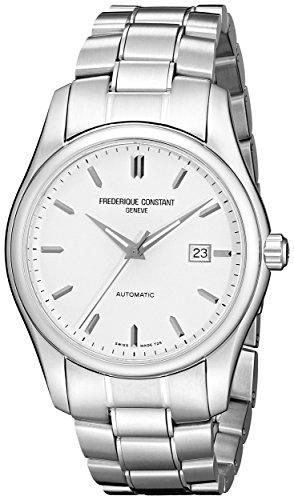 Frederique Constant Geneve Index Clear Vision FC303S6B6B Elegante orologio da uomo Lancetta al trizio