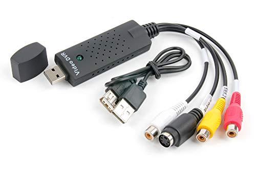 DURAGADGET-Adapter / -Verbindung / -Stick/USB-Videoaufnahmemodul Aufnahmekonverter-Übertragungskabel (Player 7 Dvd Rca Portable)