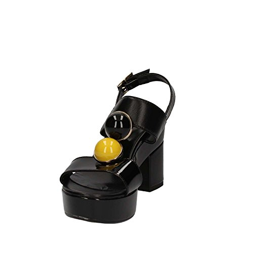 GRACE SHOES P 99 F 13 S Sandalo tacco Donna Nero