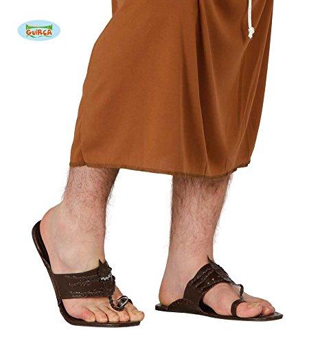 Paio di sandali da frate infradito antichi romani