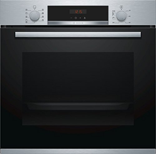 Bosch série 4 hba573bs0 Four électrique 71L à noir, acier inoxydable Four