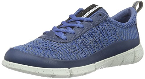 Ecco Damen Intrinsic 1 Outdoor Fitnessschuhe Blau (DENNIM BLUE/MOON50170)