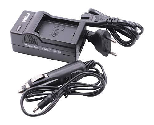 vhbw Ladegerät, Ladekabel, Tischlader, Netzteil mit Kfz-Adapter für AHDBT-001, ABPAK-001, AHDBT-002 Akku wie GoPro HD Hero, Motorsports, Surf, Hero 2