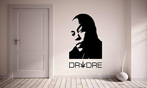 Price comparison product image DR DRE Hip Hop Vinyl Wall Art Sticker Decal - 16 colours & 3 sizes **UK SELLER** - fms49 (X Large 100 x 60 cm)
