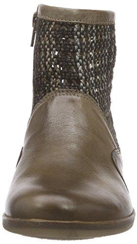 camel activeSantana 73 - Stivali classici imbottiti a gamba corta Donna Marrone (Braun (mushroom))
