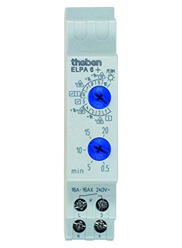 Theben Elpa 6 Plus Montaggio Su Guida Din-Luce-Timer Con 10