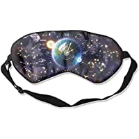 Zodiac Clock Artistic Illustration Sleep Eyes Masks - Comfortable Sleeping Mask Eye Cover For Travelling Night... preisvergleich bei billige-tabletten.eu