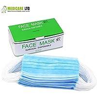 Box von 50Non Woven 3-lagig Face Masken preisvergleich bei billige-tabletten.eu