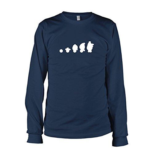 TEXLAB - Assistant Evolution - Langarm T-Shirt Dunkelblau