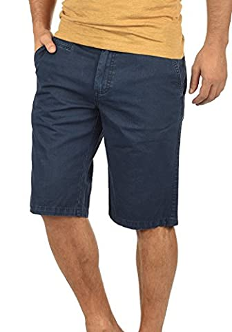 SOLID Viseu - Pantalon Chino Short - Homme, taille:L;couleur:Insignia Blue (1991)