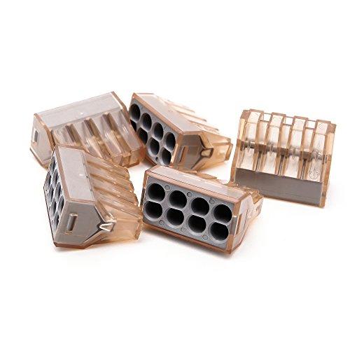 Suyep Push Wire Connector für Anschlusskästen PCT-608 / 773-608 (20) (Push-wire)