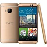 HTC One M9 Smartphone, Display 5 Pollici, Full-HD-Display, Octa-Core-Processore, 20 MP Fotocamera, 32GB Memoria, Android 5.0.2, Oro [Germania]
