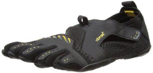 Vibram 5 Fingers Mens Signa Water Shoes 13M0201 Black/Yellow,7-7.5 UK(40 EU)