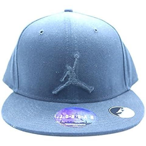 Nike Jordan True Jumpman Fitted Cap Nero Full 507942-013 taglia
