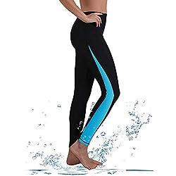 GEEK LIGHTING - Pantalones de Neopreno para Mujer con protección UV