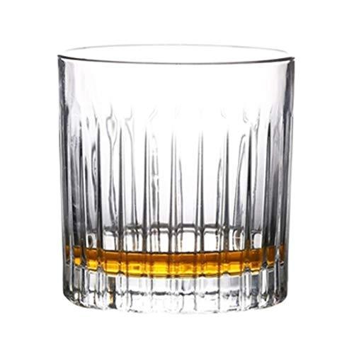 6a1a332f1a Verres à vin Verre À Whisky Rayé Verre À Cocktail Rétro 4 Verres Verre À Vin