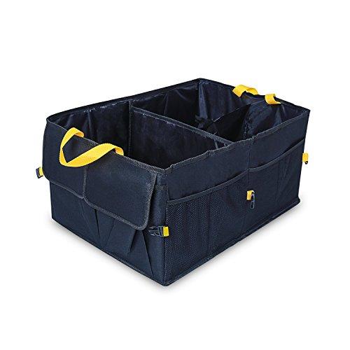Preisvergleich Produktbild YIER Auto Kofferraum Organisator Vorratsbehälter Große Kofferraumtasche und Auto Faltschachtel